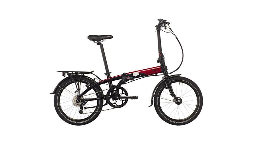 "tern Link D8 Foldecykel 20"" rød/sort"